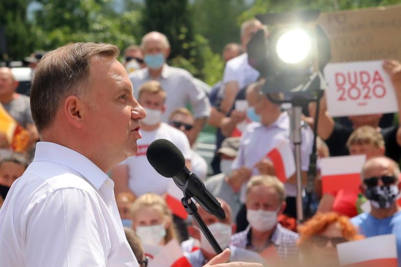 Prezydent RP Andrzej Duda /Waldemar Deska /PAP