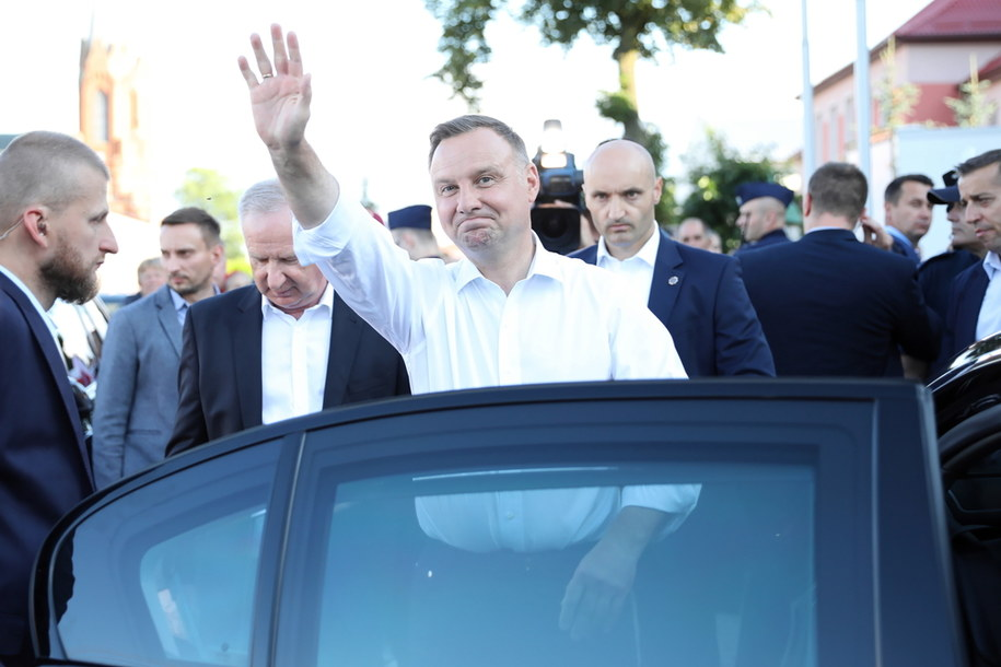 Prezydent RP Andrzej Duda /Leszek Szymański /PAP
