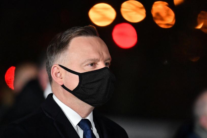 Prezydent RP Andrzej Duda /Wojciech Stóżyk /Reporter