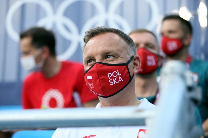 Prezydent RP Andrzej Duda / Leszek Szymański    /PAP