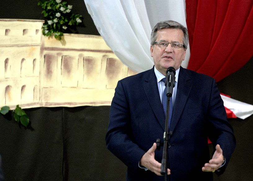 Prezydent RP Bronisław Komorowski /Darek Delmanowicz /PAP