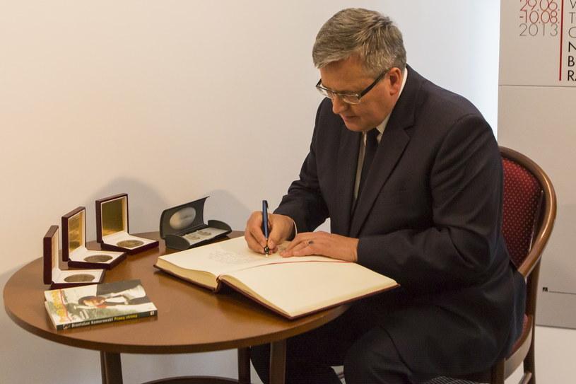 Prezydent RP Bronisław Komorowski /Bartosz Jankowski /PAP