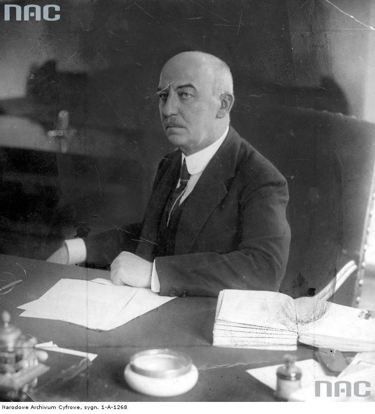 Prezydent RP Gabriel Narutowicz /Z archiwum Narodowego Archiwum Cyfrowego