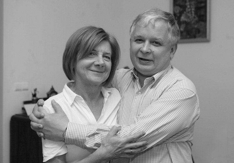 Prezydent RP Lech Kaczyński i jego małżonka Maria Kaczyńska /Maciej Nabrdalik /East News