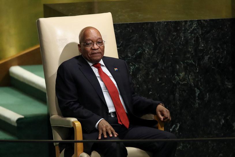 Prezydent RPA Jacob Zuma /AFP