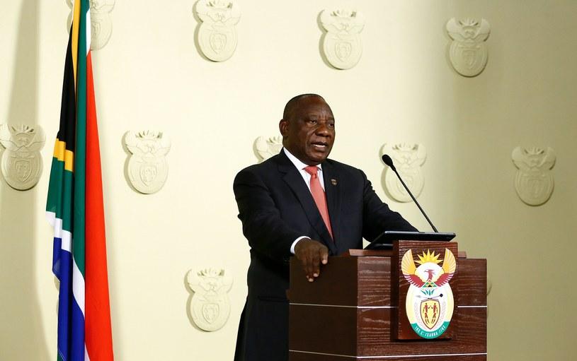 Prezydent RPA /AFP