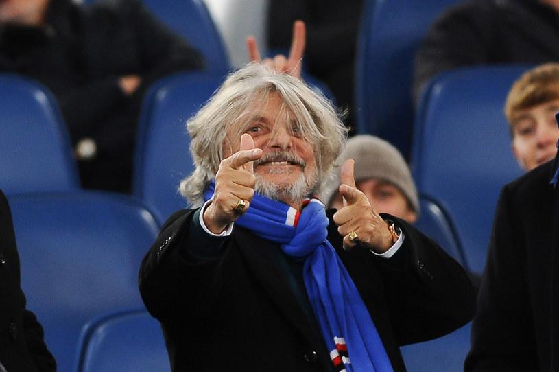 Prezydent Sampdorii - Massimo Ferrero /REPORTER /East News