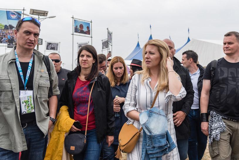 Prezydent Słowacji Zuzana Čaputová (druga z prawej) /Tomas Tkacik