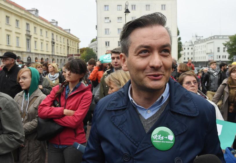 Prezydent Słupska Robert Biedroń /Radek Pietruszka /PAP