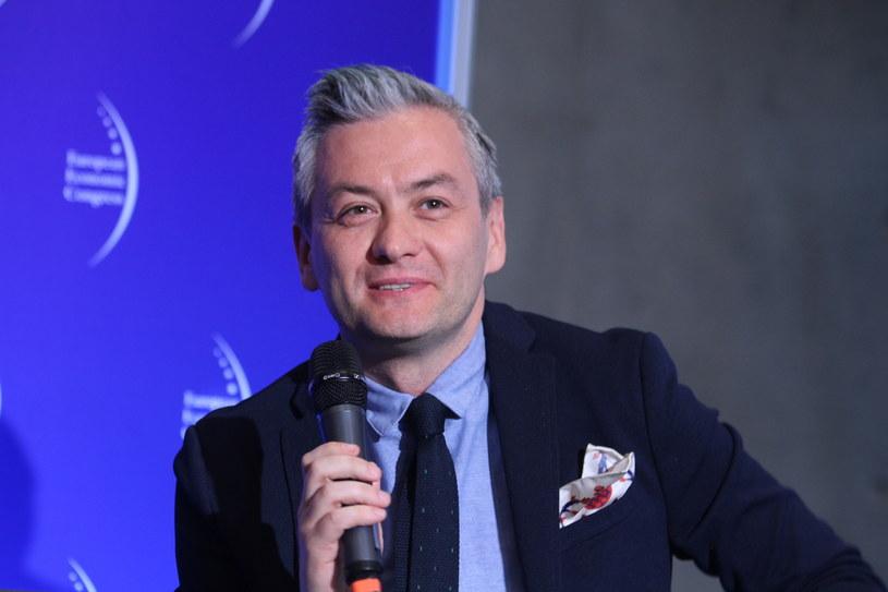 Prezydent Słupska Robert Biedroń /Arkadiusz Gola /East News