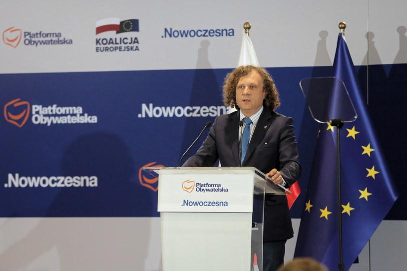 Prezydent Sopotu Jacek Karnowski /Wojciech Olkuśnik /PAP