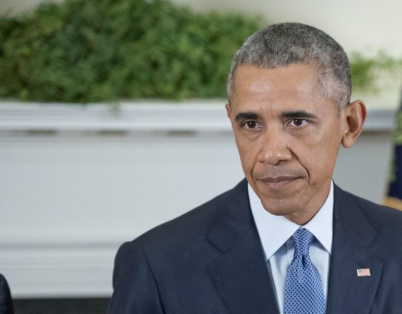 Prezydent Stanów Zjednoczonych Barack Obama /PAP/EPA