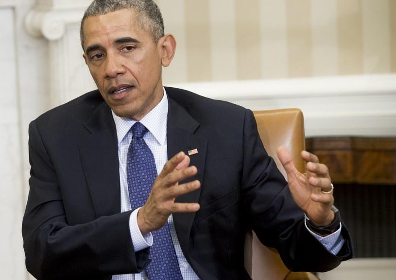 Prezydent Stanów Zjednoczonych Barack Obama /AFP