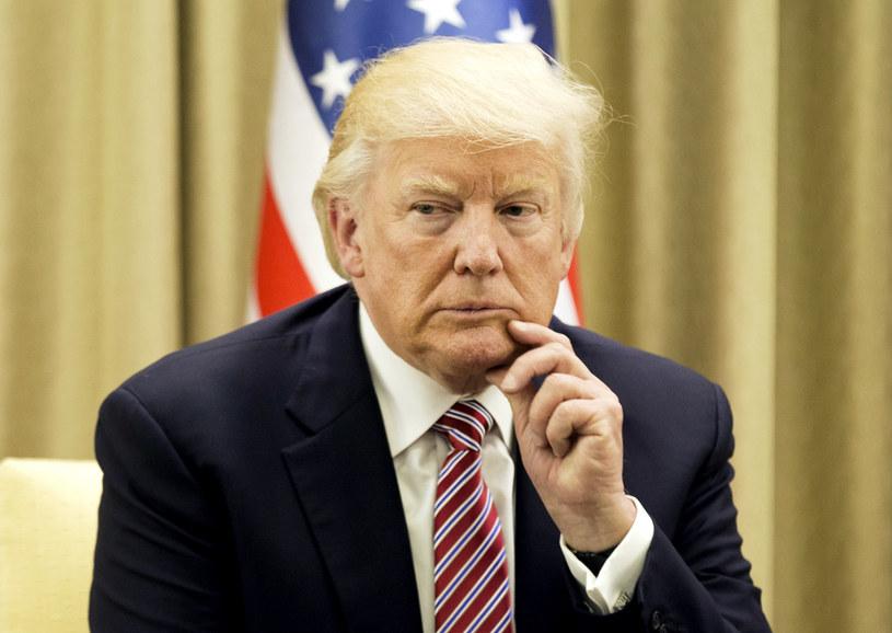 """Prezydent Stanów Zjednoczonych przybędzie do Polski w środę wieczorem, w czwartek będzie gościem szczytu Trójmorza na Zamku Królewskim, a wcześniej spotka się """"w cztery oczy"""" z prezydentem Andrzejem Dudą /AFP"""