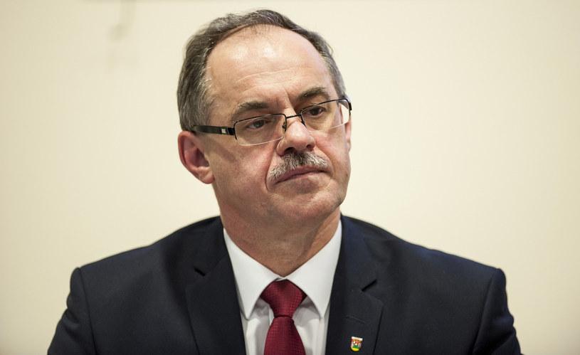 Prezydent Suwałk Czesław Renkiewicz /MICHAL KOSC /Reporter