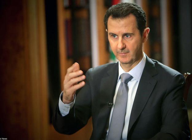 Prezydent Syrii Baszar el-Asad /AFP /East News
