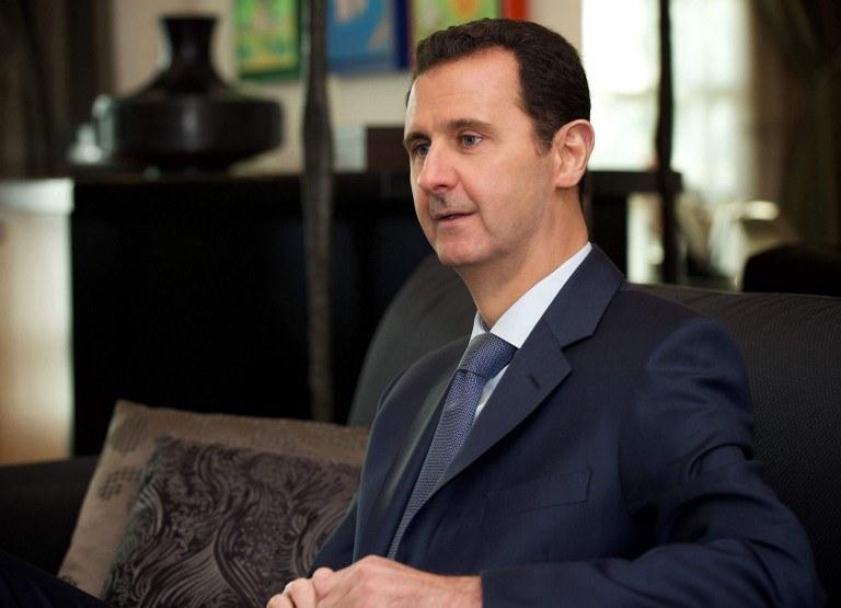 Prezydent Syrii Baszar el-Asad /SANA / AFP /AFP