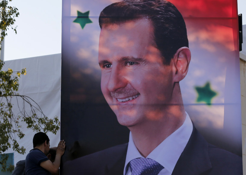 Prezydent Syrii Baszar el-Asad /LOUAI BESHARA /AFP