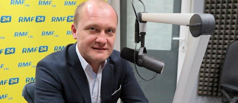 Prezydent Szczecina Piotr Krzystek był gościem Porannej rozmowie w RMF FM /Aneta Łuczkowska /RMF