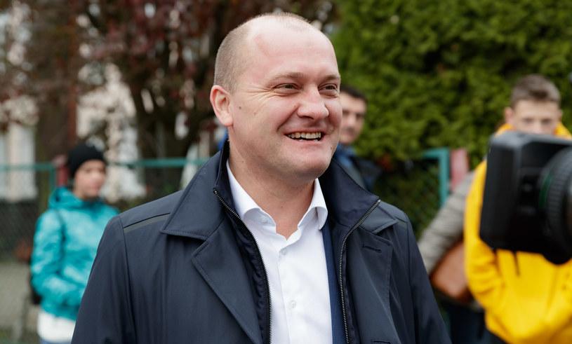 Prezydent Szczecina Piotr Krzystek /Robert Stachnik /Reporter