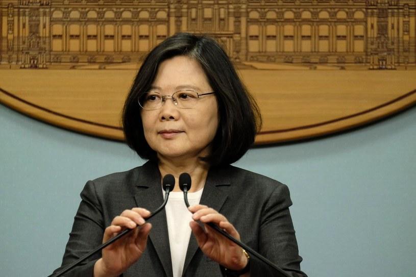 Prezydent Tajwanu Caj Ing-wen /AFP