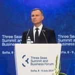 Prezydent: Trójmorze to najbardziej dynamicznie rozwijająca się gospodarczo część Europy