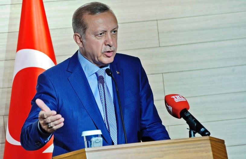 Prezydent Turcji Recep Erdogan /AFP