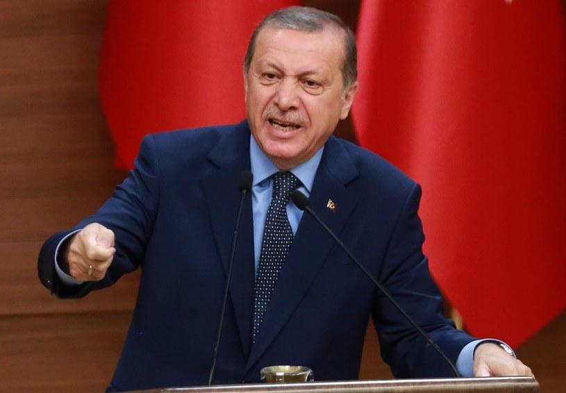 Prezydent Turcji Recep Tayyip Erdogan /ADEM ALTAN /East News