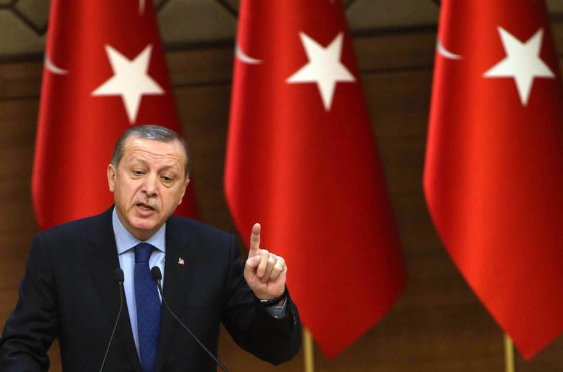 Prezydent Turcji Recep Tayyip Erdogan /ADEM ALTAN / /AFP