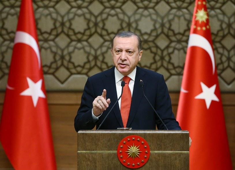 Prezydent Turcji Recep Tayyip Erdogan /PAP/EPA