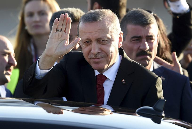 Prezydent Turcji Recep Tayyip Erdogan /PATRIK STOLLARZ /AFP