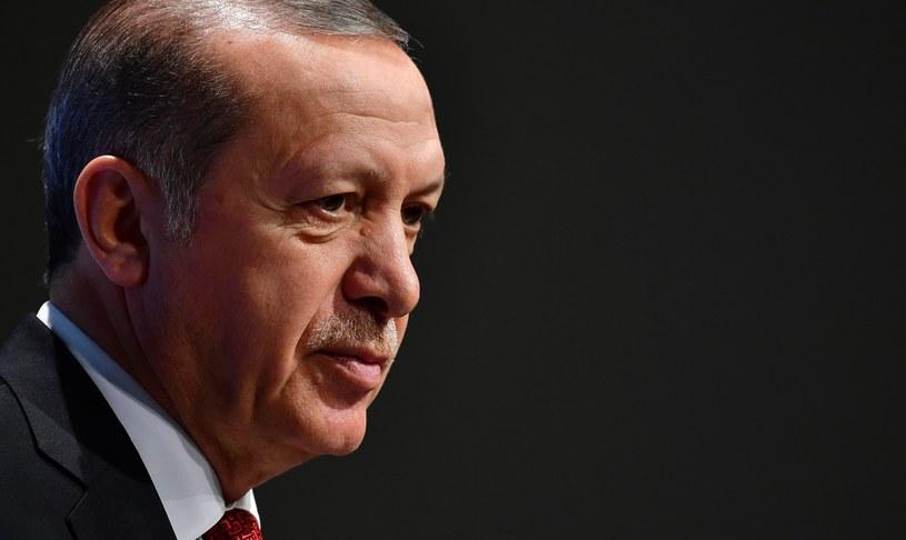 Prezydent Turcji Recep Tayyip Erdogan /AFP