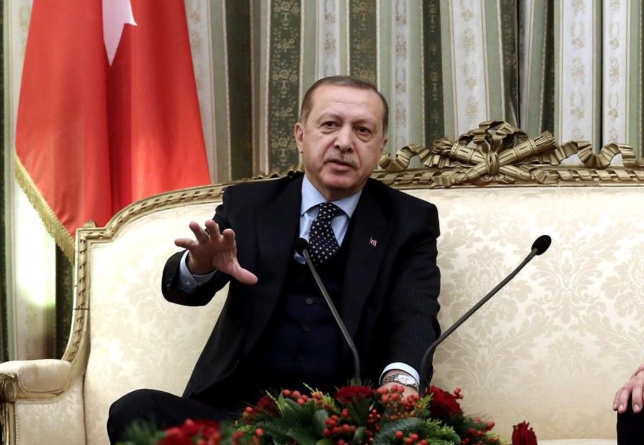 Prezydent Turcji Recep Tayyip Erdogan /SIMELA PANTZARTZI / POOL /PAP/EPA