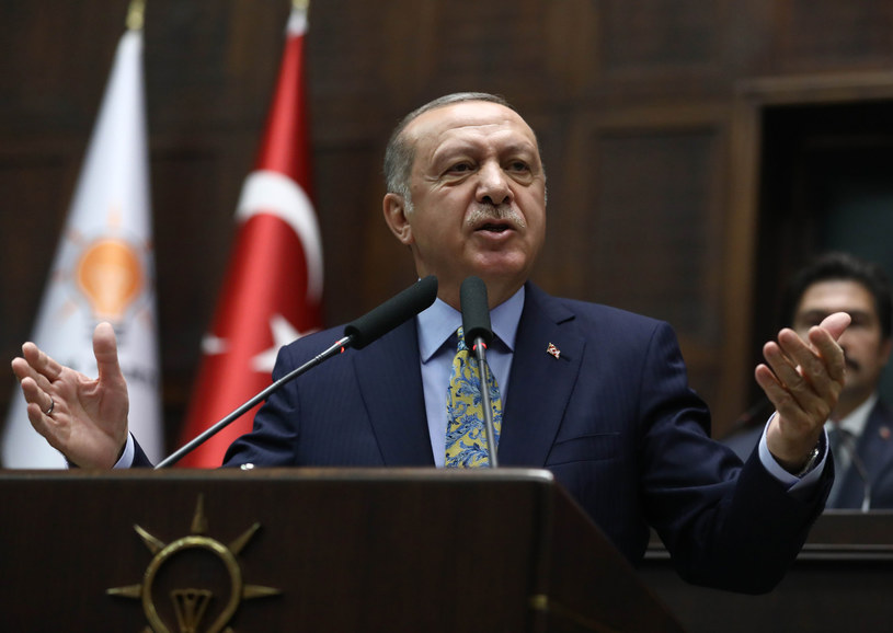 Prezydent Turcji Recep Tayyip Erdogan /ADEM ALTAN /AFP