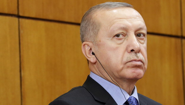 Prezydent Turcji Recep Tayyip Erdogan /Andrej Cukić /PAP/EPA
