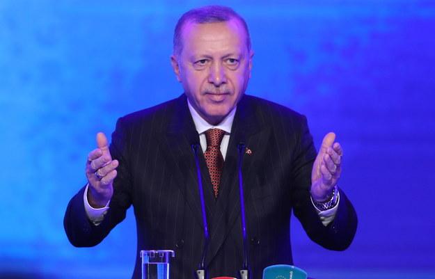 Prezydent Turcji Recep Tayyip Erdogan /TOLGA BOZOGLU /PAP/EPA