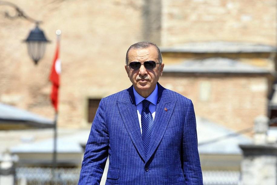 Prezydent Turcji Recep Tayyip Erdogan /Abaca /PAP