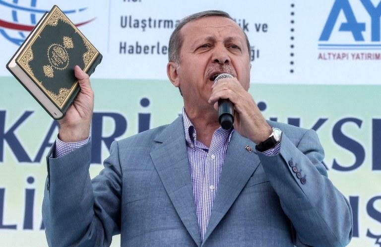 Prezydent Turcji /AFP