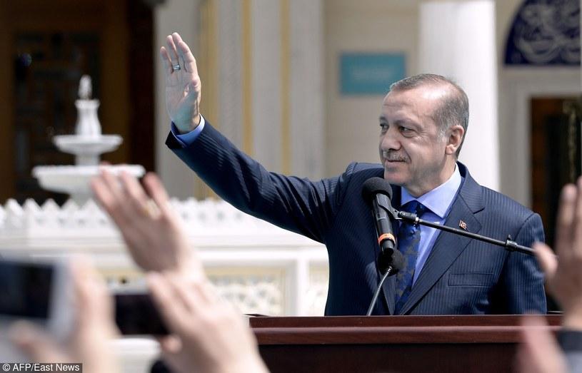 Prezydent Turcji /OLIVIER DOULIERY/AFP /East News