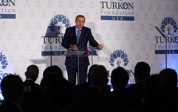 Prezydent Turcji /AA/ABACA /PAP/EPA