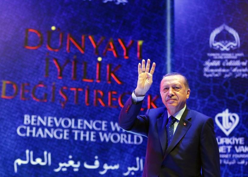 Prezydent Turcji /PAP/EPA