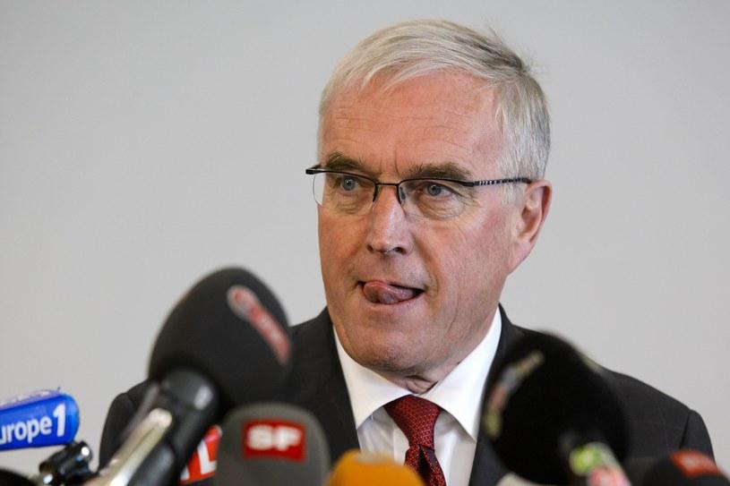 Prezydent UCI Pat McQuaid nie zamierza podać się do dymisji /AFP