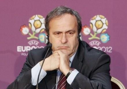 Prezydent UEFA Michel Platini /AFP