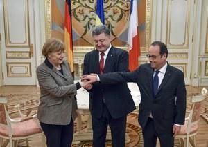 Prezydent Ukrainy akceptuje propozycję Merkel i Hollande'a