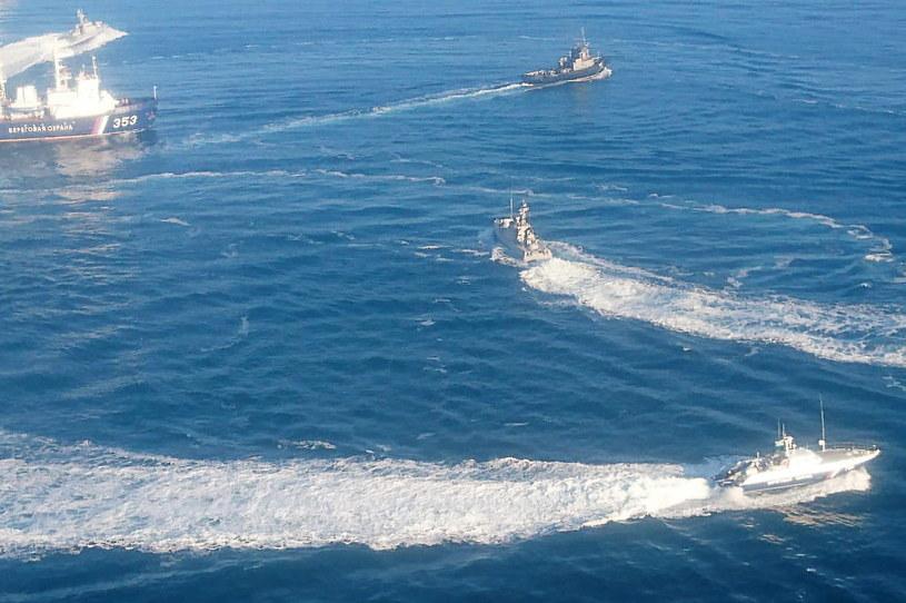 Prezydent Ukrainy Petro Poroszenko podpisał dekret o wprowadzeniu stanu wojennego w związku z rosyjskim atakiem na ukraińskie okręty w Cieśninie Kerczeńskiej /Agencja FORUM