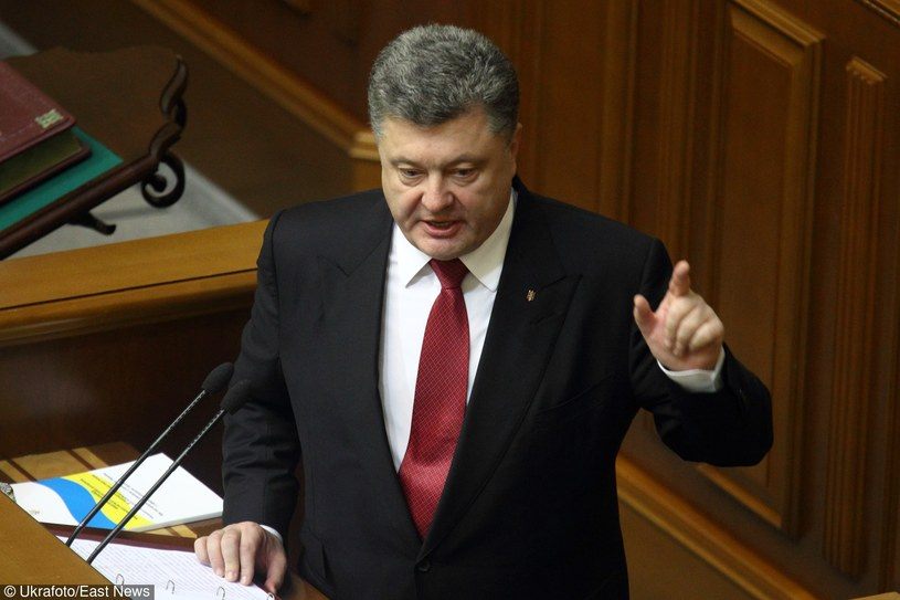 Prezydent Ukrainy Petro Poroszenko /Ukrafoto /East News