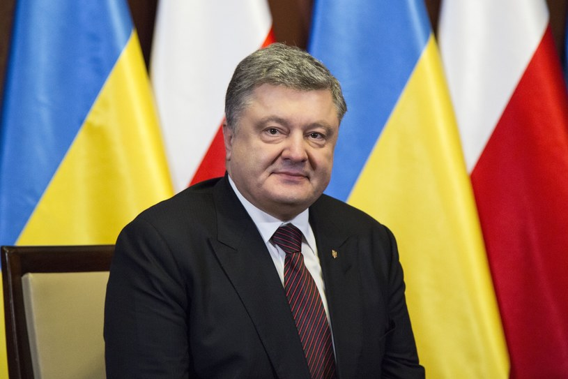Prezydent Ukrainy Petro Poroszenko /Andrzej Hulimka  /East News