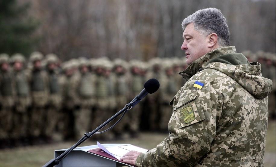 Prezydent Ukrainy Petro Poroszenko /ITAR-TASS/Mikhail Palinchak /PAP/EPA