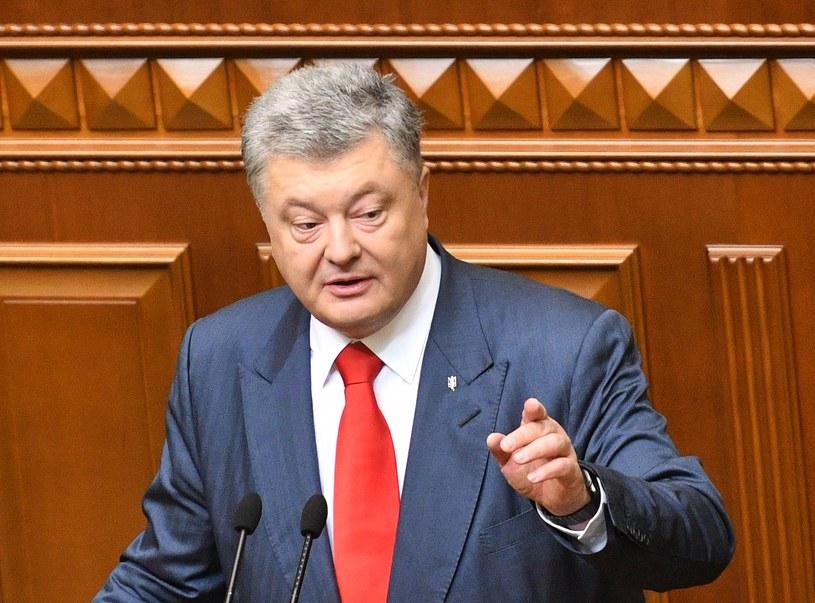 Prezydent Ukrainy Petro Poroszenko /GENYA SAVILOV /AFP