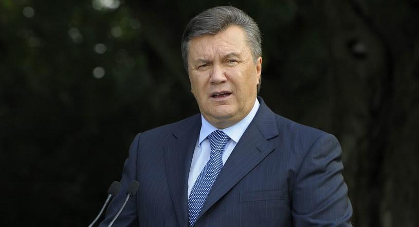 Prezydent Ukrainy Wiktor Janukowycz. /Jan Bielecki /East News